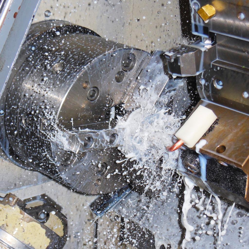 Faisst Armaturen Aalen Edelstahl Bearbeitung CNC Drehmaschine Fräsen spanabhebend